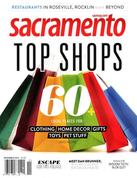 Sacramento Cover - 11/1/2014