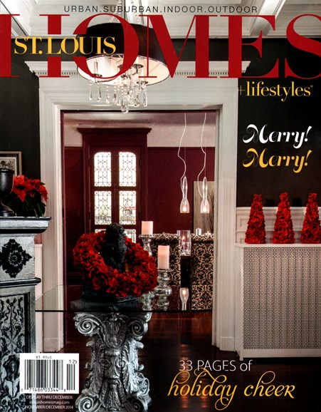 St. Louis Homes & Lifestyles Cover - 11/1/2014