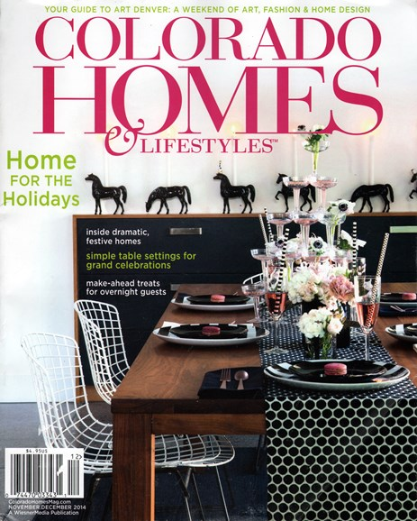 Colorado Homes & Lifestyles Cover - 11/1/2014