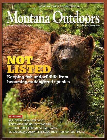 Montana Outdoors Cover - 11/1/2014