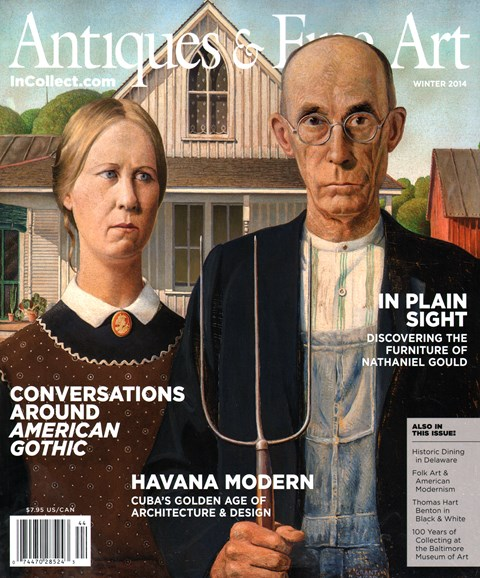 Antiques & Fine Art Cover - 12/1/2014