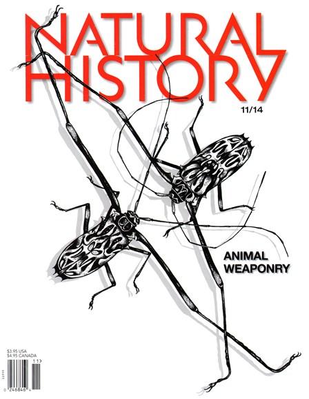 Natural History Cover - 11/1/2014