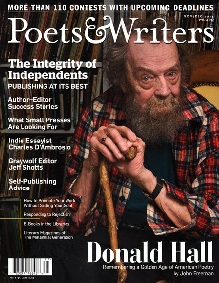 Poets & Writers Cover - 11/1/2014