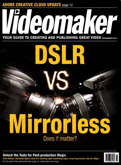 Videomaker Cover - 11/1/2014