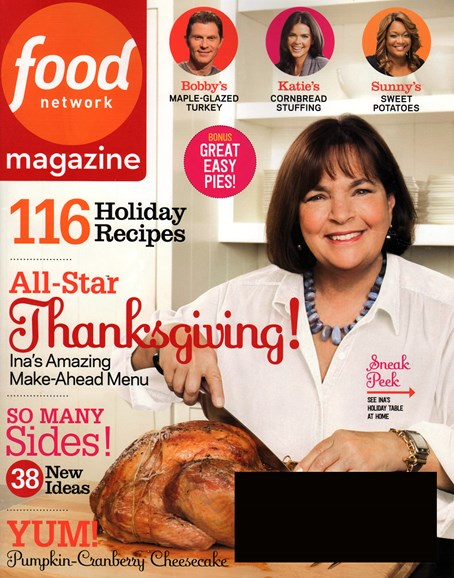 Food Network Cover - 11/1/2014
