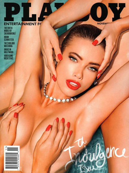 Playboy Cover - 11/1/2014