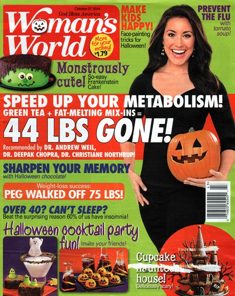 Woman's World Cover - 10/27/2014