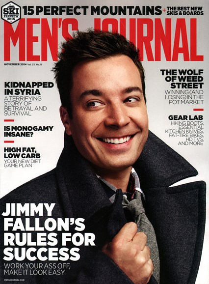 Men's Journal Cover - 11/1/2014