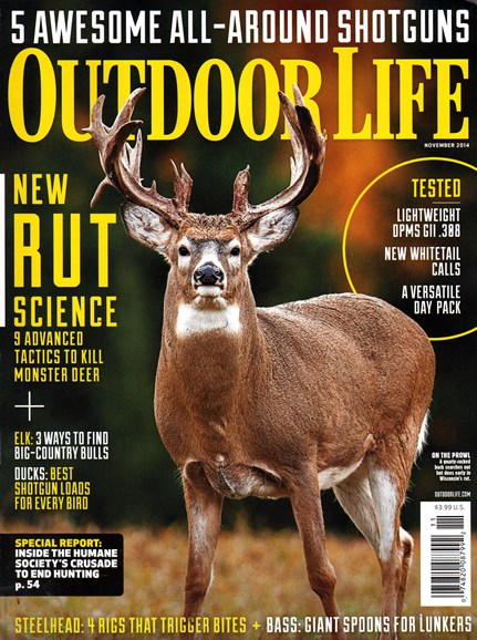 Outdoor Life Cover - 11/1/2014