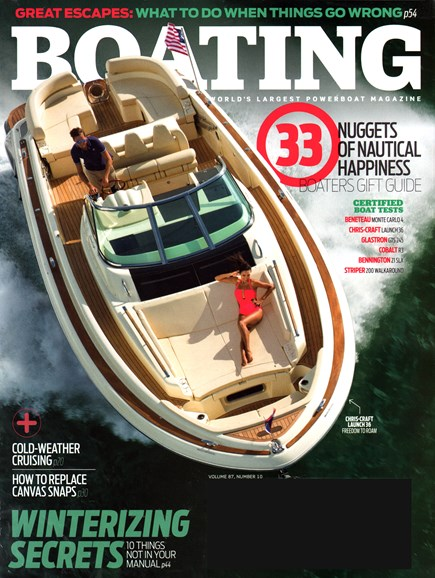 Boating Cover - 11/1/2014