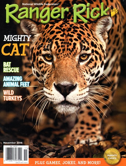 Ranger Rick Cover - 11/1/2014