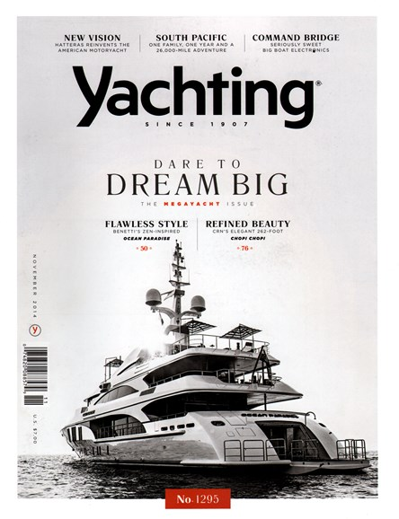 Yachting Cover - 11/1/2014