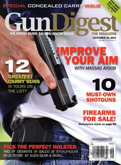 Gun Digest Cover - 10/30/2014