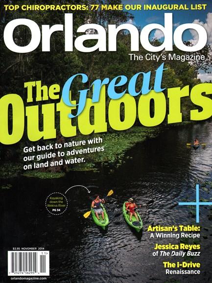 Orlando Magazine Cover - 11/1/2014