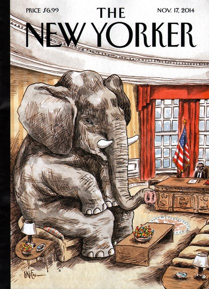 The New Yorker Cover - 11/17/2014
