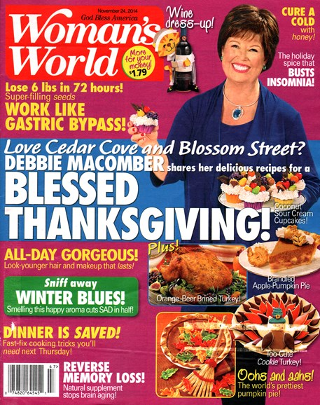 Woman's World Cover - 11/24/2014