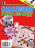 Herald Tribune Crossword Puzzles Magazine 1/1/2015