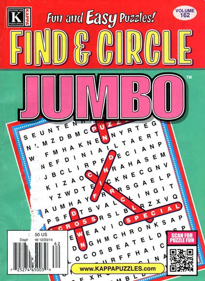Find & Circle Jumbo Cover - 12/1/2014