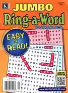 Jumbo Ring a Word Magazine 1/1/2015