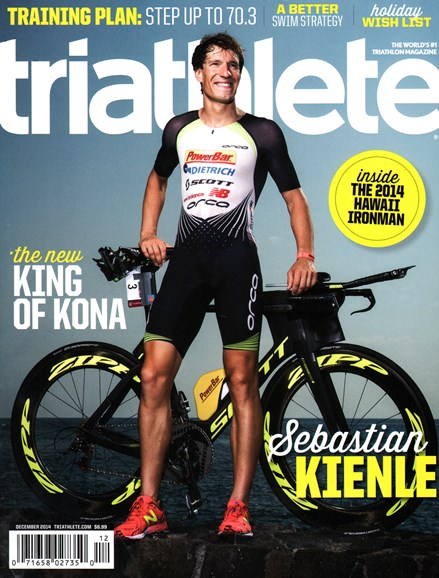 Triathlete Cover - 12/1/2014