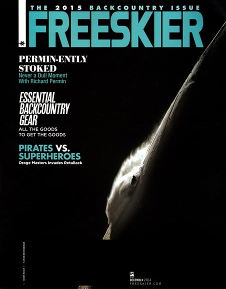 Freeskier Cover - 12/1/2014