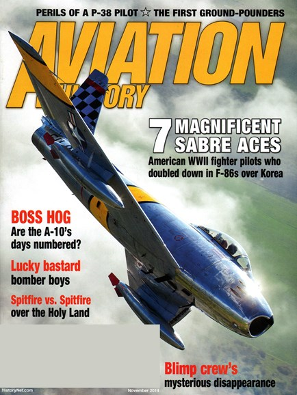 Aviation History Cover - 11/1/2014