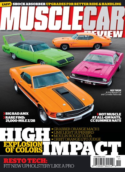 Muscle Car Review Cover - 11/1/2014