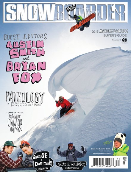 Snowboarder Cover - 11/1/2014