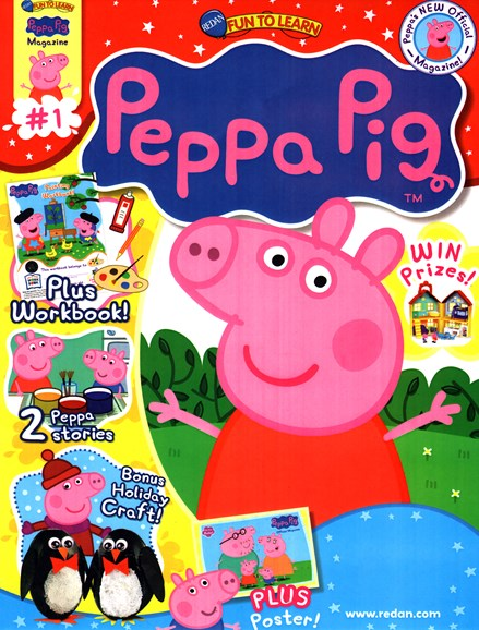 Peppa Pig Cover - 11/1/2014