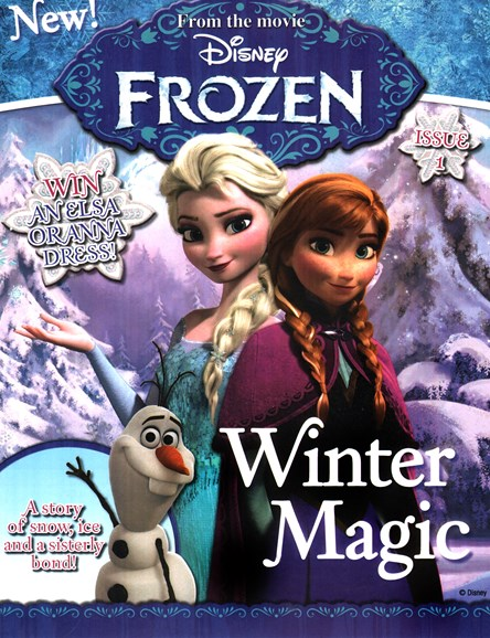 Disney Frozen Cover - 11/1/2014