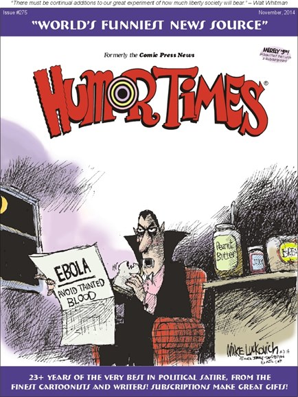 Humor Times Cover - 11/1/2014