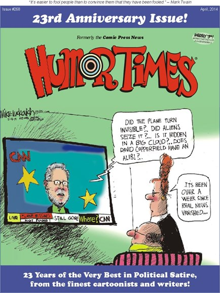 Humor Times Cover - 4/1/2014