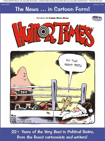 Humor Times Cover - 1/1/2014