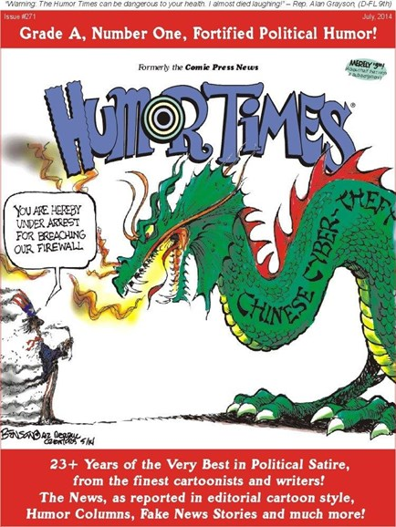Humor Times Cover - 7/1/2014
