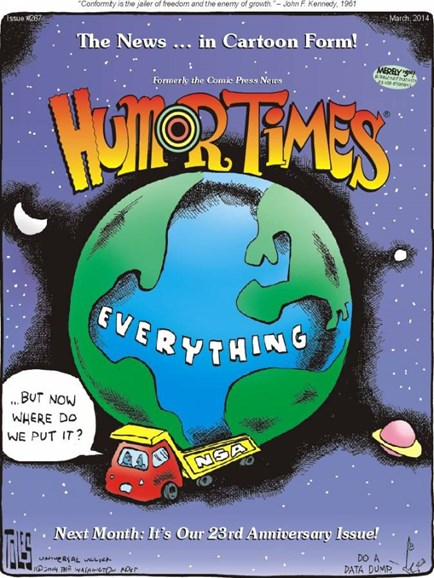Humor Times Cover - 3/1/2014
