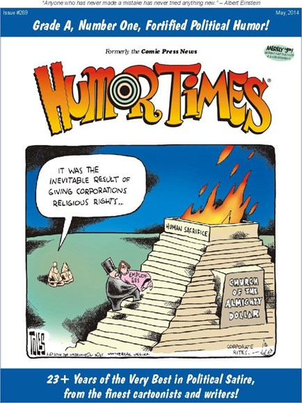 Humor Times Cover - 5/1/2014