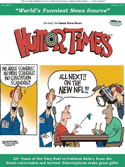 Humor Times Cover - 10/1/2014