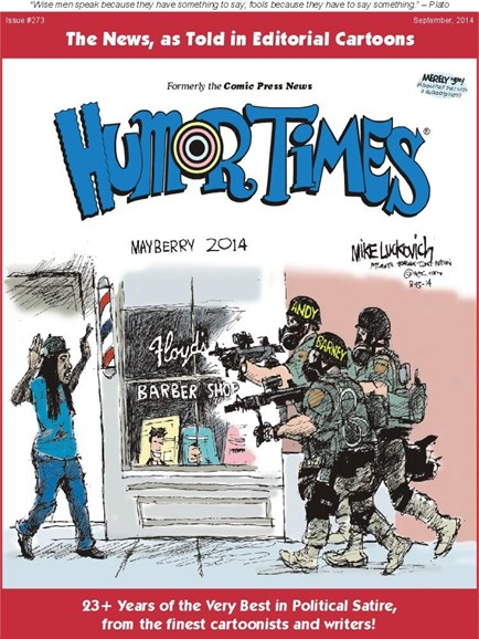 Humor Times Cover - 9/1/2014