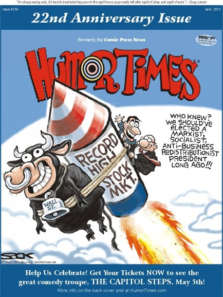 Humor Times Cover - 4/1/2013