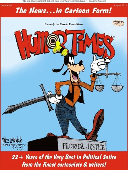 Humor Times Cover - 8/1/2013