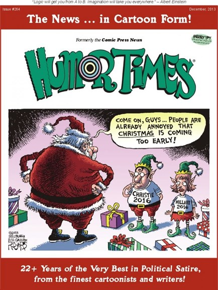 Humor Times Cover - 12/1/2013