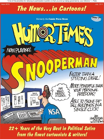 Humor Times Cover - 7/1/2013