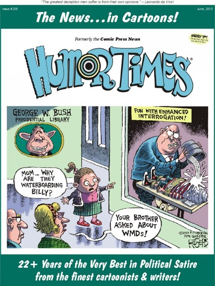 Humor Times Cover - 6/1/2013
