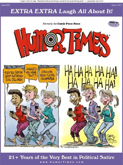 Humor Times Cover - 3/1/2013