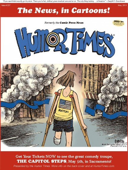 Humor Times Cover - 5/1/2013