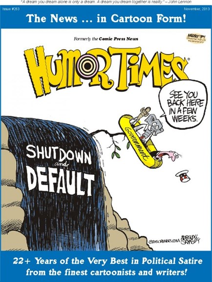 Humor Times Cover - 11/1/2013