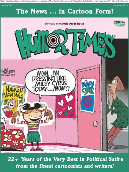 Humor Times Cover - 10/1/2013