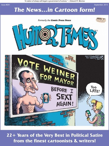 Humor Times Cover - 9/1/2013