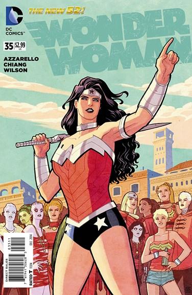 Wonder Woman Cover - 12/15/2014