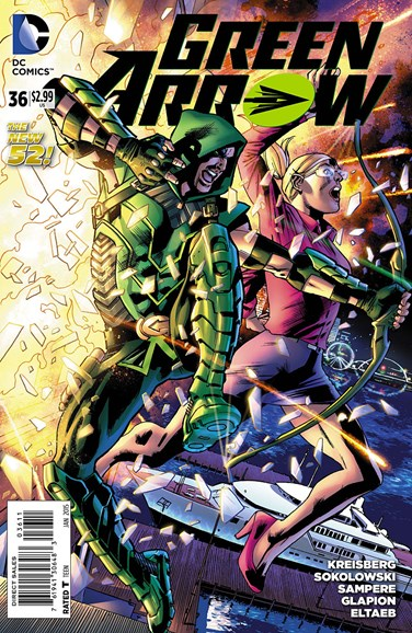 Green Arrow Cover - 1/1/2015